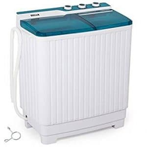 Della Portable Mini Compact Twin Tub Washing Machine Washer Spin Dryer Cycle