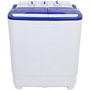 ROVSUN Portable Washing Machine with Twin Tub Electric Compact Washer