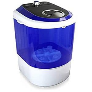 Upgraded Version Pyle Portable Washer, Top Loader, Portable Laundry, Mini Washing Machine