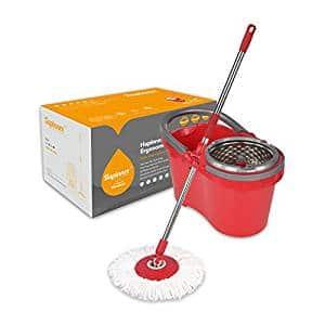 Microfiber Floor Spray Mop Usage