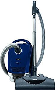 Miele Compact C2 Electro+ Canister Vacuum, Marine Blue (Top Pick)