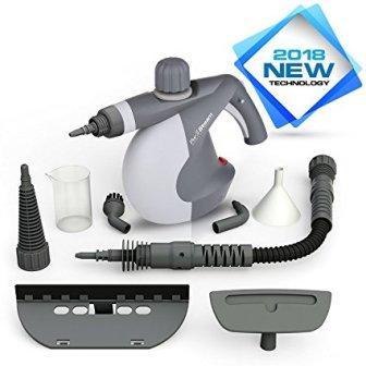 PurSteam Handheld Pressurized Steam Cleaner