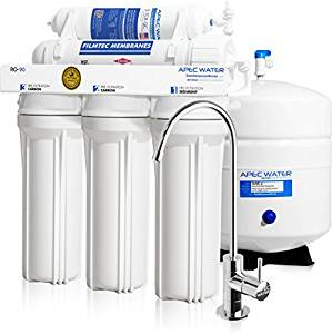 APEC Top Tier High Flow 90 GPD Ultra Safe Reverse Osmosis Drinking Water Filter System