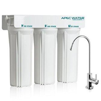 APEC WFS-1000 3 Stage Under-Sink Water Filter System