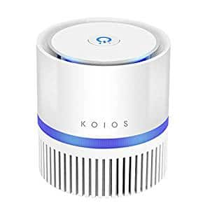 Air Purifier, KOIOS Desktop Air Filtration with True HEPA Filter