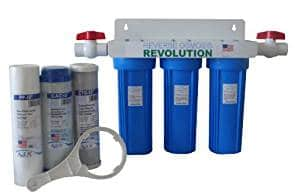 Reverse Osmosis Revolution Whole House 3-Stage Water Filtration System