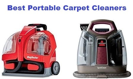 Top 15 Best Portable Carpet Cleaners In 2019
