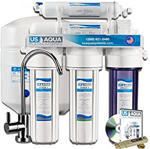 US Aqua Platinum Purifier Drinking Water Filter System