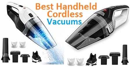 Top 15 Best Handheld Cordless Vacuums in 2018