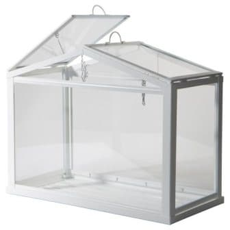Ikea Greenhouse, Indooroutdoor, White