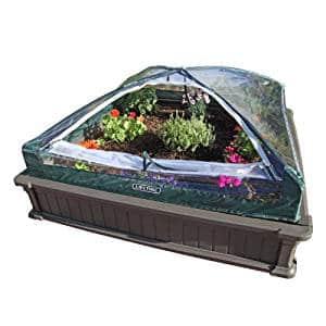 Lifetime 60053 Raised Garden Bed Kit with Early Start Vinyl Enclosure