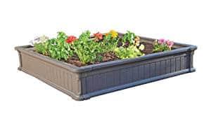 Lifetime Raised Garden Kit – The 4′ x 4′ Lifetime Raised Garden Bed