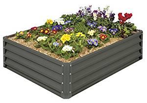 Mr. Stacky High-Grade Metal Raised Garden Bed Kit