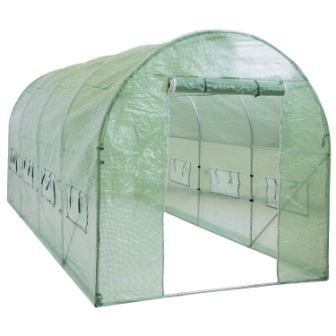 Best Choice Products 15x7x7ft Portable Large Walk in Tunnel Garden Plant Greenhouse