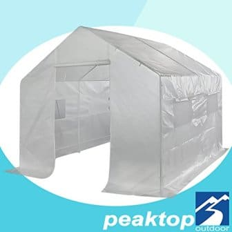 Peaktop Large Greenhouse Outdoor Walk in Grow Garden Plant Growing Green House