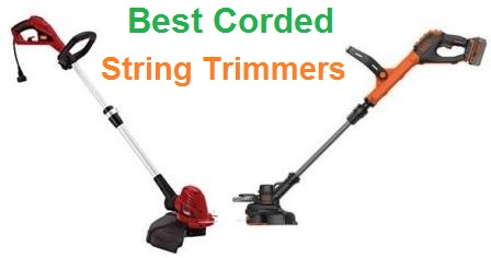 Top 15 Best Corded String Trimmers in 2019