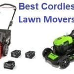 Top 15 Best Cordless Lawn mowers in 2019
