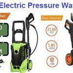 Top 15 Best Electric Pressure Washers in 2019