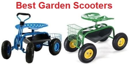 Top 15 Best Garden Scooters in 2019