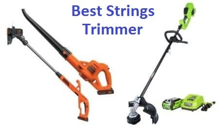 Top 15 Best String Trimmers in 2019