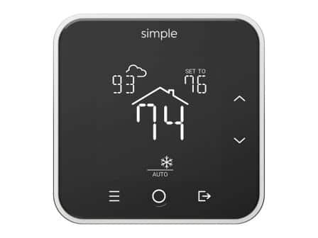 Simple Thermostat with C-wire