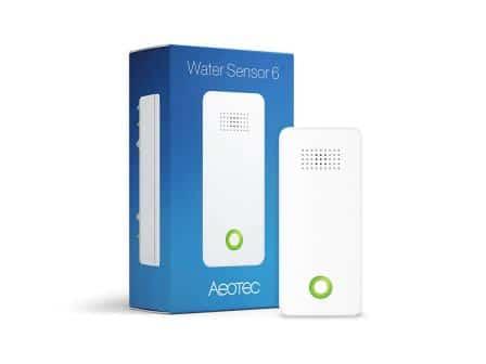 Aeotec Water Sensor 6 Z-Wave Plus Flood Sensor, Freeze, Leak & Temperature Detector Water Sensor