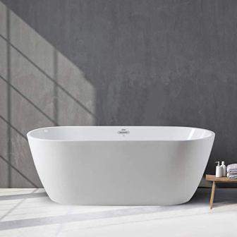 """Ferdy 59"""" Freestanding Bathtub"""