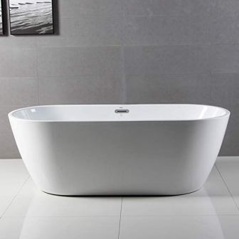 """Ferdy 67"""" Acrylic Freestanding Bathtub"""