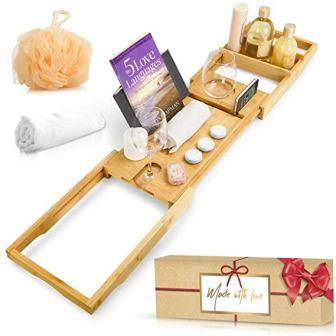 New England Crafts & Design Royal Bathtub Tray Set