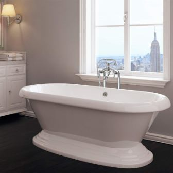 Pelham & White Luxury Freestanding Tub – From the Mendham Collection