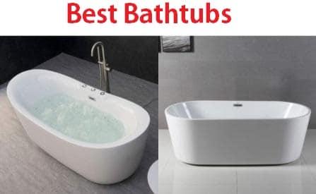 Top 15 Best Bathtubs in 2019