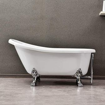 WOODBRIDGE Slipper Clawfoot Bathtub B-0022 /BTA1522, 59″