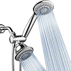 AquaStorm by HotelSpa High Pressure Shower Head/Handheld Showerhead Combo