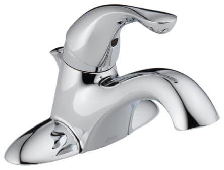 Delta 520-MPU-DST Classic Single Handle Centerset Bathroom Faucet