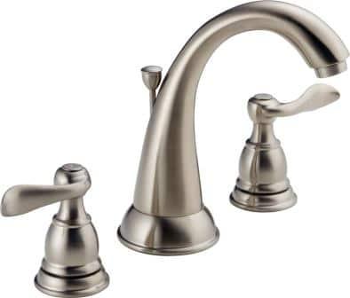 Delta Faucet Windemere Two-Handle Widespread Bathroom Faucet