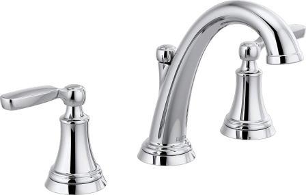 Delta Woodhurst 2-Handle Widespread Bathroom Faucet