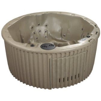 Essential Hot Tubs 20 Jets Arbor Hot Tub, Cobblestone