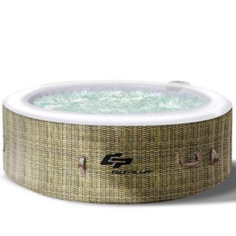 Goplus Inflatable Hot Tub Outdoor Spa