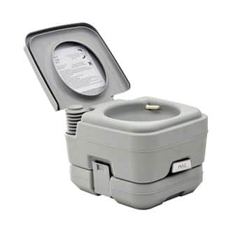 HOMCOM Basic Portable Toilet