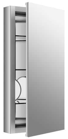 KOHLER K-99001-NA Verdera Slow-Close Medicine Cabinet With Magnifying Mirror