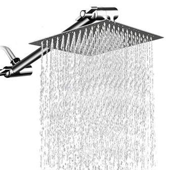 MeSun Large Stainless-Steel High Pressure Shower Head