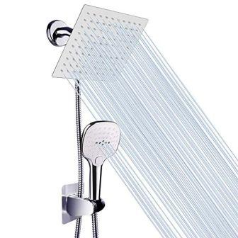 NearMoon High Pressure Rain Showerhead Handheld Shower Combo