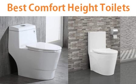 Excellent Top 10 Best Comfort Height Toilets In 2019 Complete Guide Theyellowbook Wood Chair Design Ideas Theyellowbookinfo