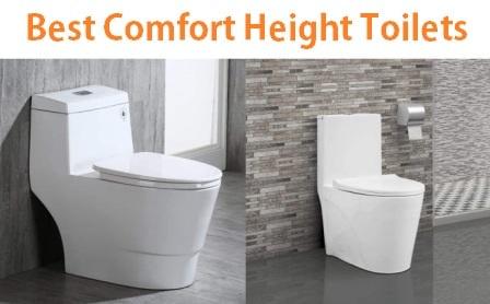 Top 10 Best Comfort Height Toilets in 2019