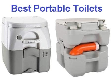 5 Portable Travel Disposable Biodegradable Toilets Flat Pack Emergency Potty