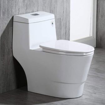 WoodBridge T-0001 Toilet with Soft Closing Seat