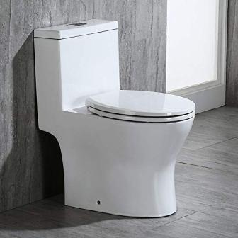 Woodbridge Modern Design One Piece Dual Flush Toilet