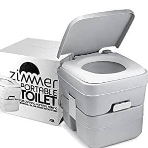 Zimmer Porta Potty Portable Toilet