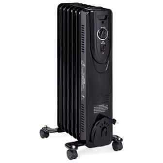 Best Choice Products 1500W Electric Energy-Efficient Radiator Heater