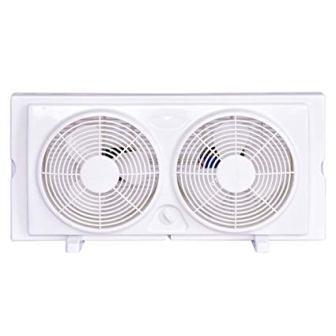 COSTWAY 7-inch Twin Window Fan